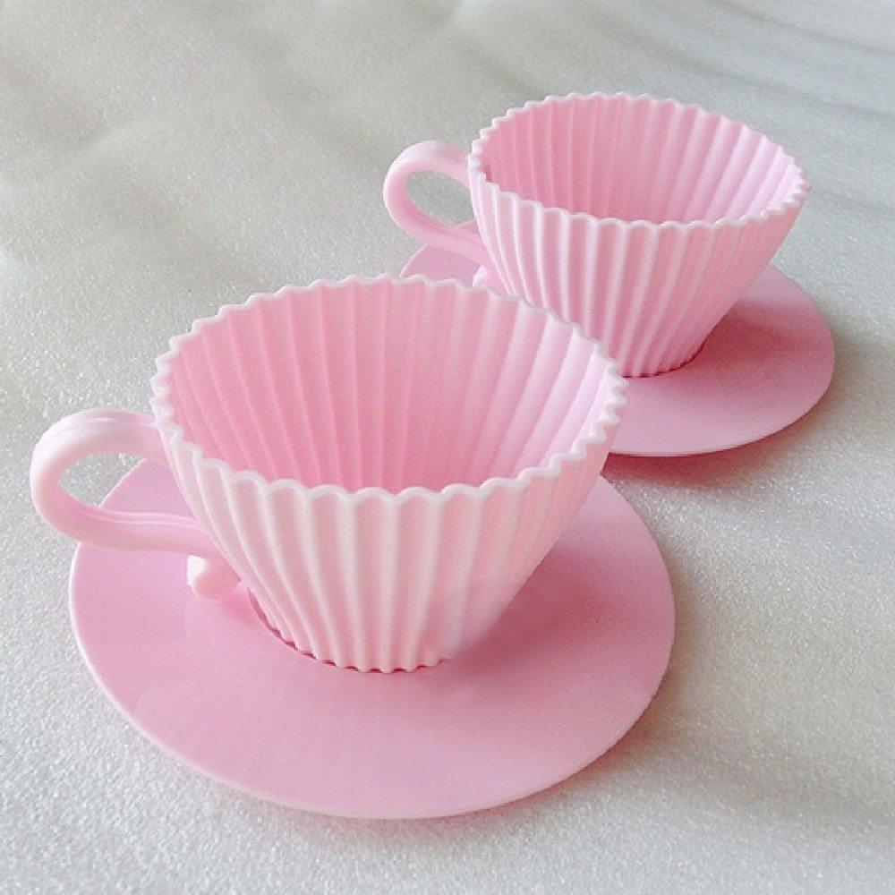 Teacup Cupcake Mold