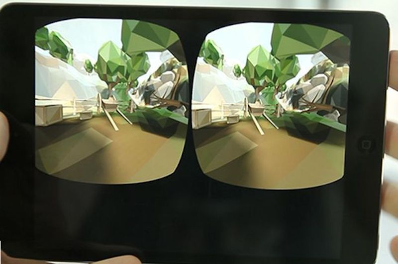 AirVR goggles, inside look
