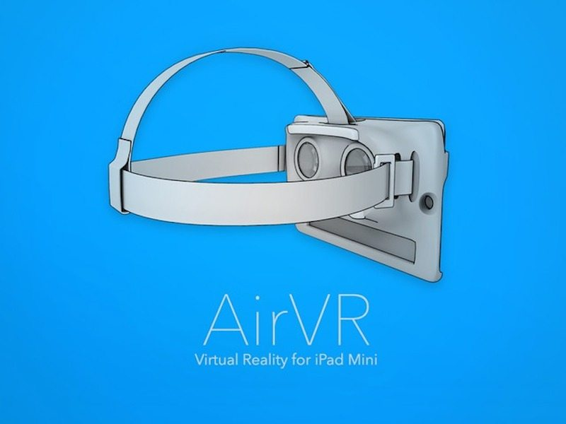 AirVR introduction page