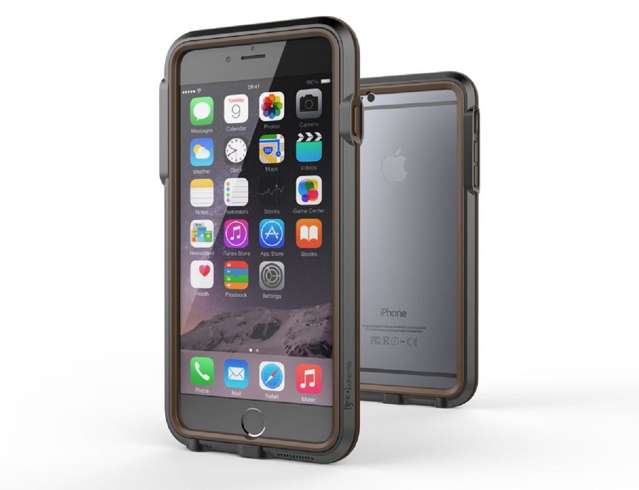 Xtreme Aluminum Case for iPhone 6/6S by Bricwave