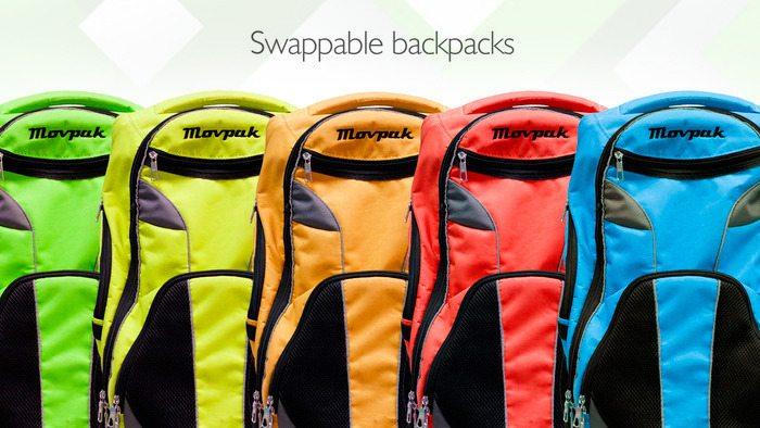 Movpak colours