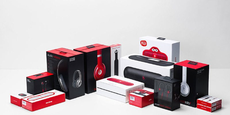 Beats by Dre packaging