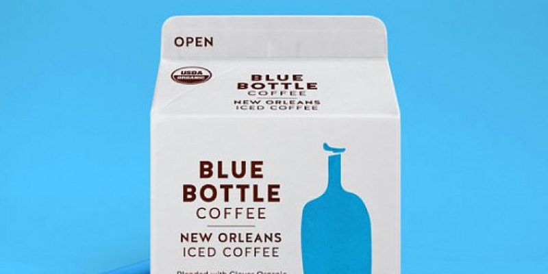 Blue Bottle Coffee packaging