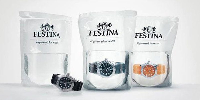 Festina Watches packaging