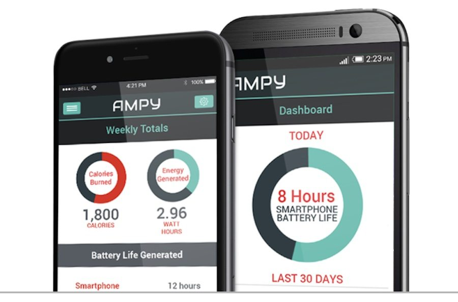 AMPY portable charger official app