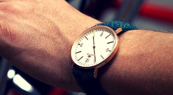 BIRLINE Watches Are a New Generation of Luxury Wristwatches With Vibrantly Colored Harris Tweed Straps