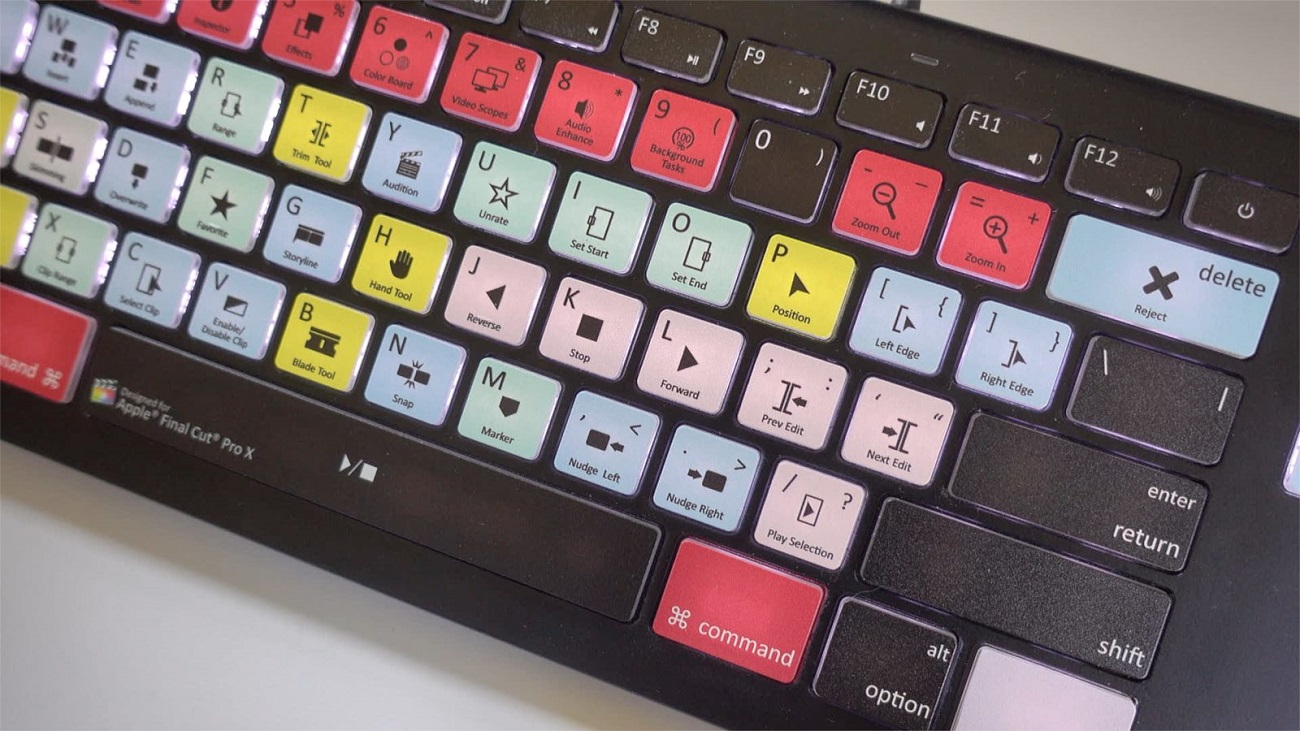 Backlit Editing Keyboard