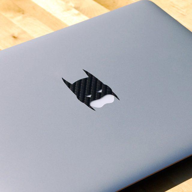 Carbon Fiber Batman MacBook Decal