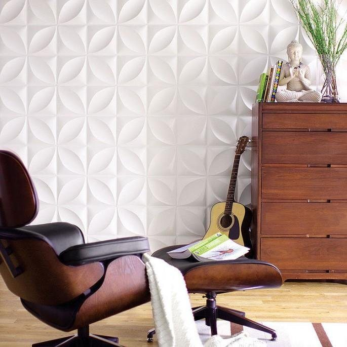 Chrysalis 3D Wall Flats by Inhabit