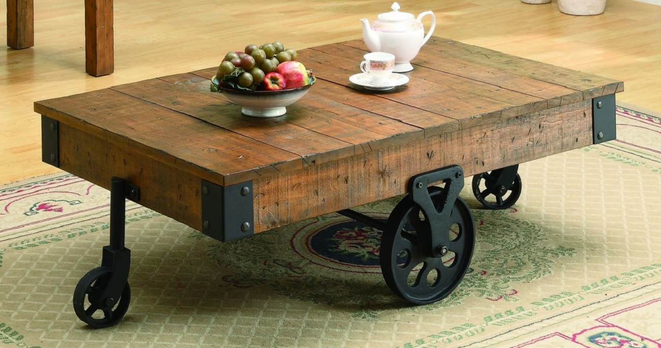 Coaster+Country+Style+Coffee+Table
