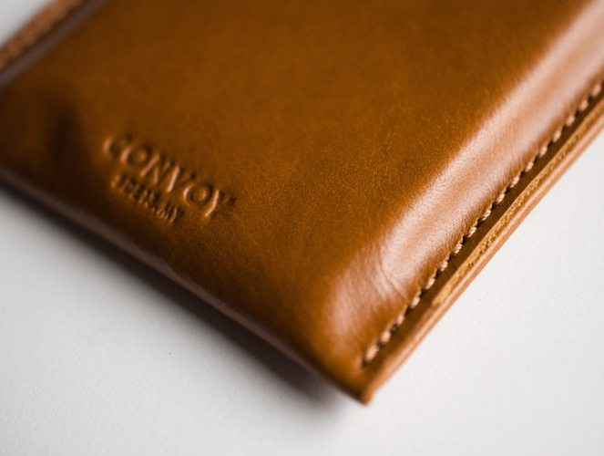 Convoy Co. iPhone 6 Plus Sleeve Tan
