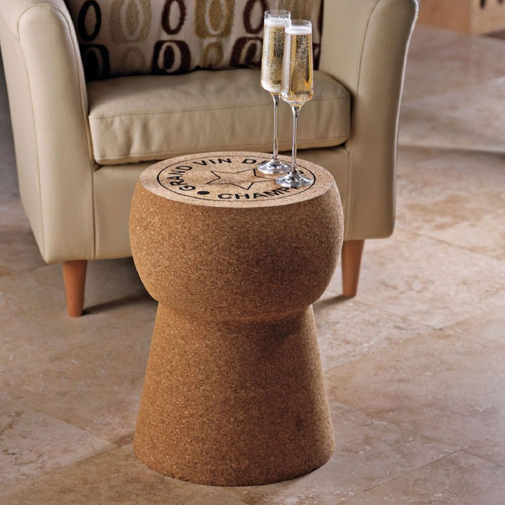 Giant+Champagne+Cork+Stool%2FTable