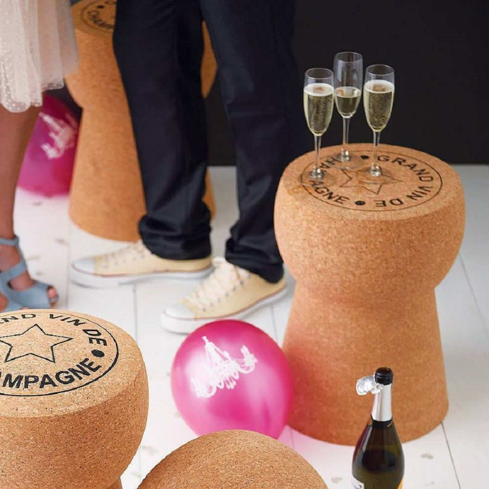 Giant Champagne Cork Stool Table 187 Gadget Flow
