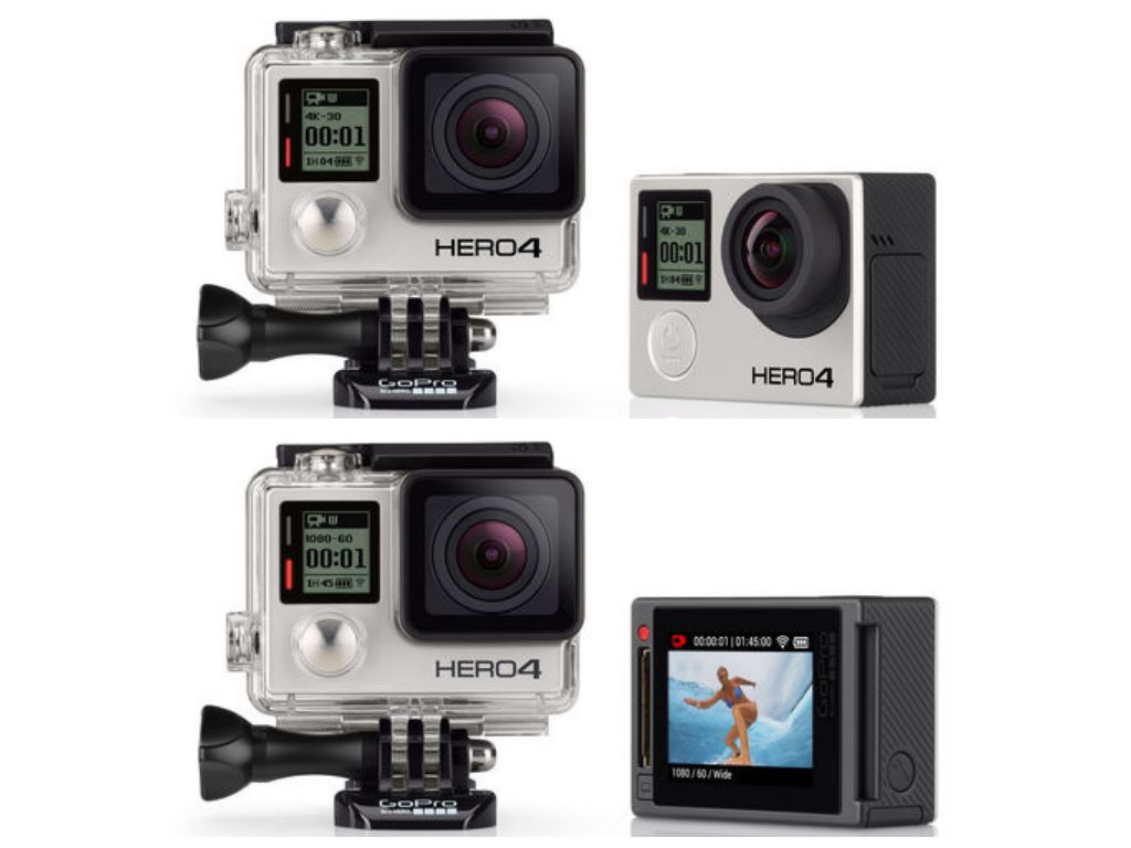 Hero4 Black and Silver