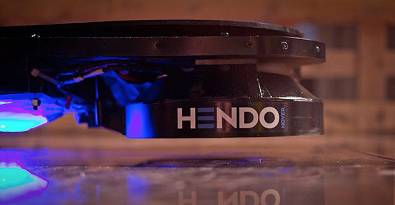 Hendo Has Created the World's First Hoverboard