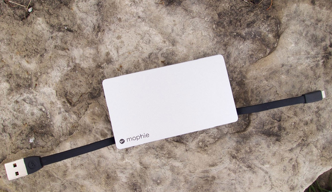 Lightning Power Reserve Keychain Battery by Mophie