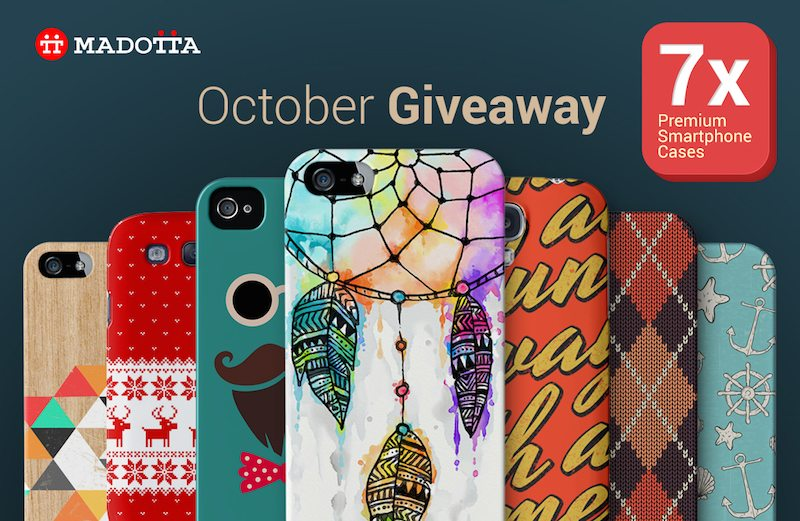 October Giveaway - Main Image