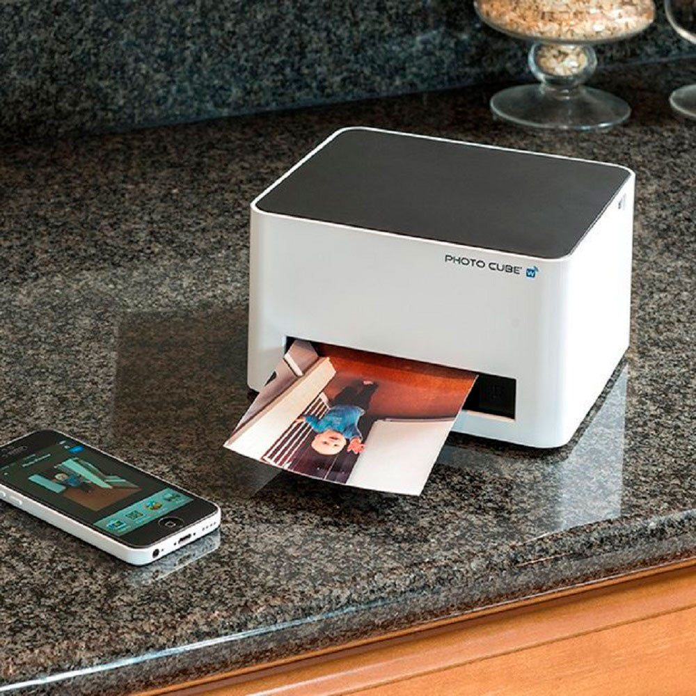 Photo Cube – Wireless Smart Photo Printer  by Vupoint