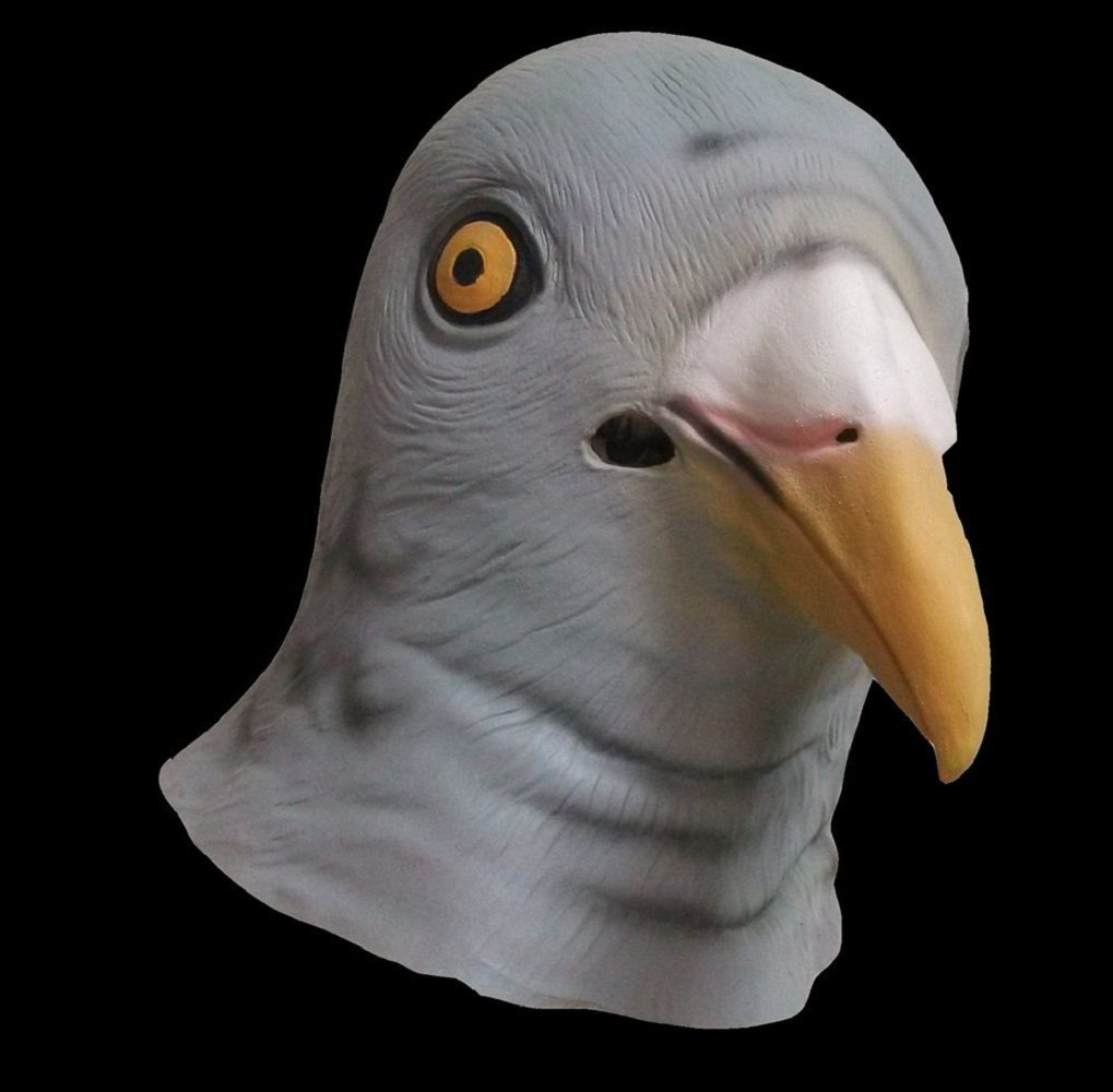 Pigeon face mask