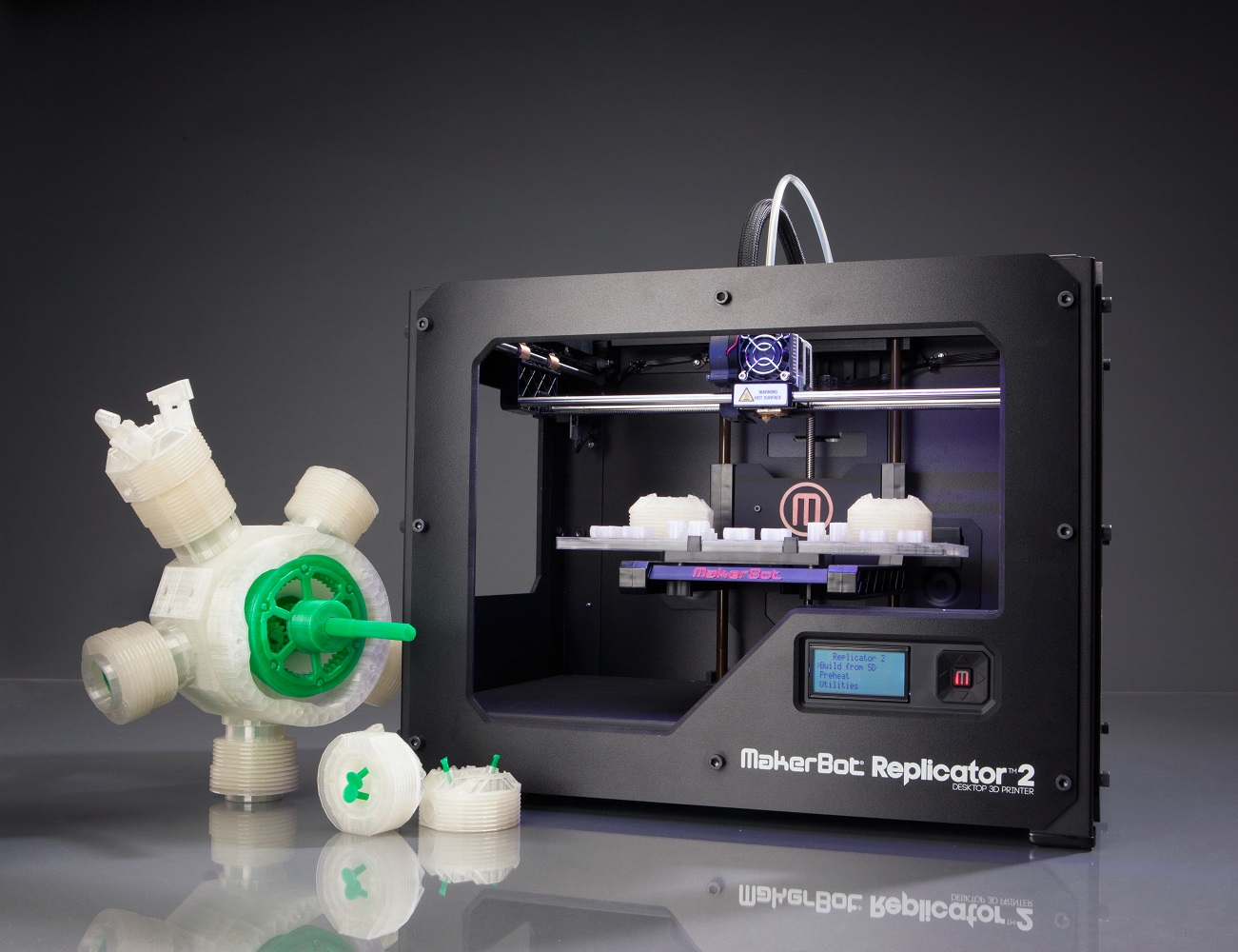 Replicator+2+Desktop+3D+Printer+By+MakerBot