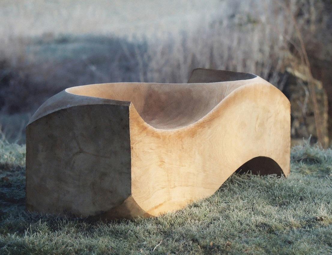 Solid Cedar Loveseat By Jake Phipps