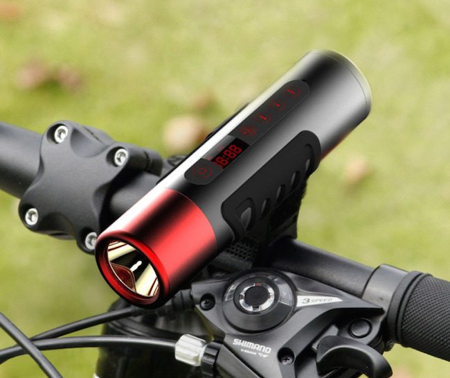 Waterproof+Flashlight+Speaker+For+Bike