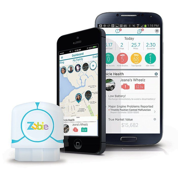 Zubie Vehicle Monitoring Device