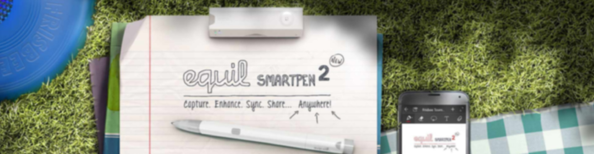 Equil Smartpen 2 Digitizes the Real Ink Pen For Saving Your Handwritten Notes in the Cloud