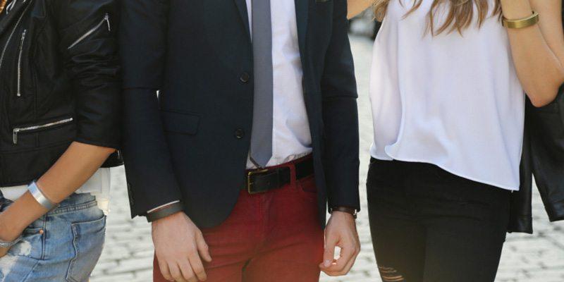 Q Bracelet unisex phone charging bracelet