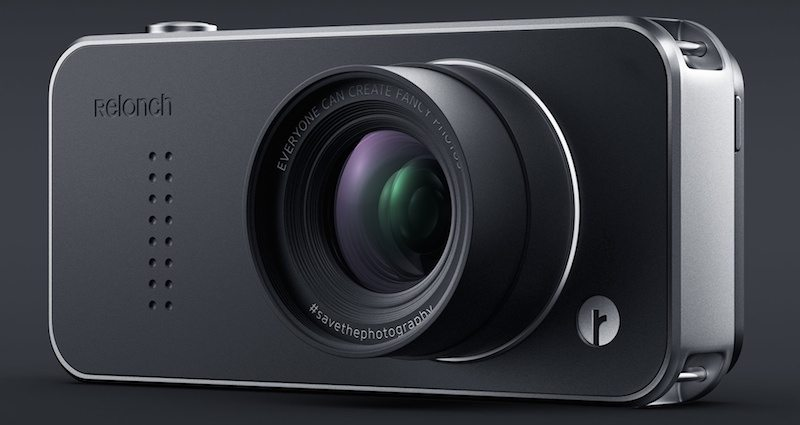 The Relonch combines an advanced digital camera with an iPhone.