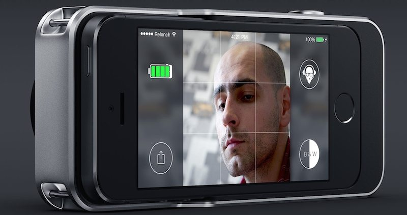 The Relonch is designed to encase the iPhone into one device.