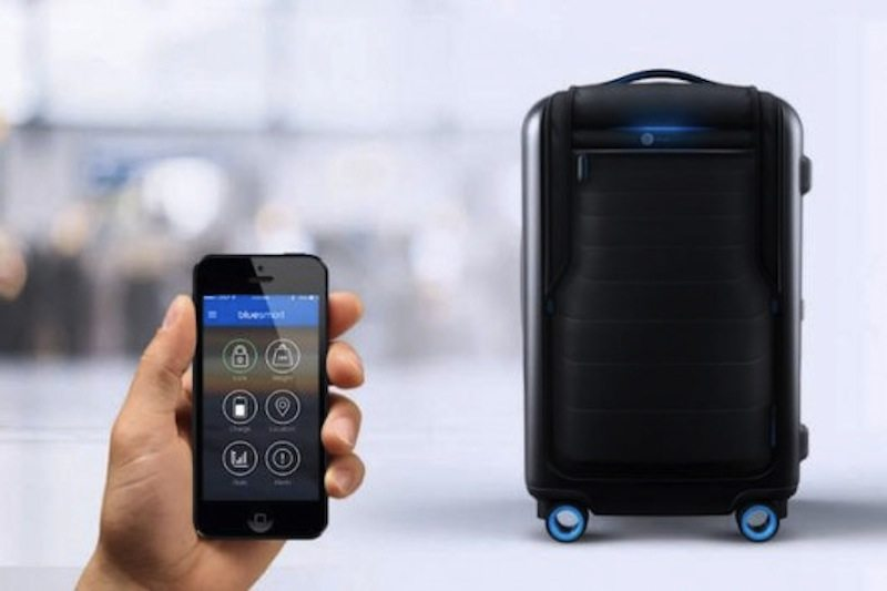 Bluesmart luggage with app