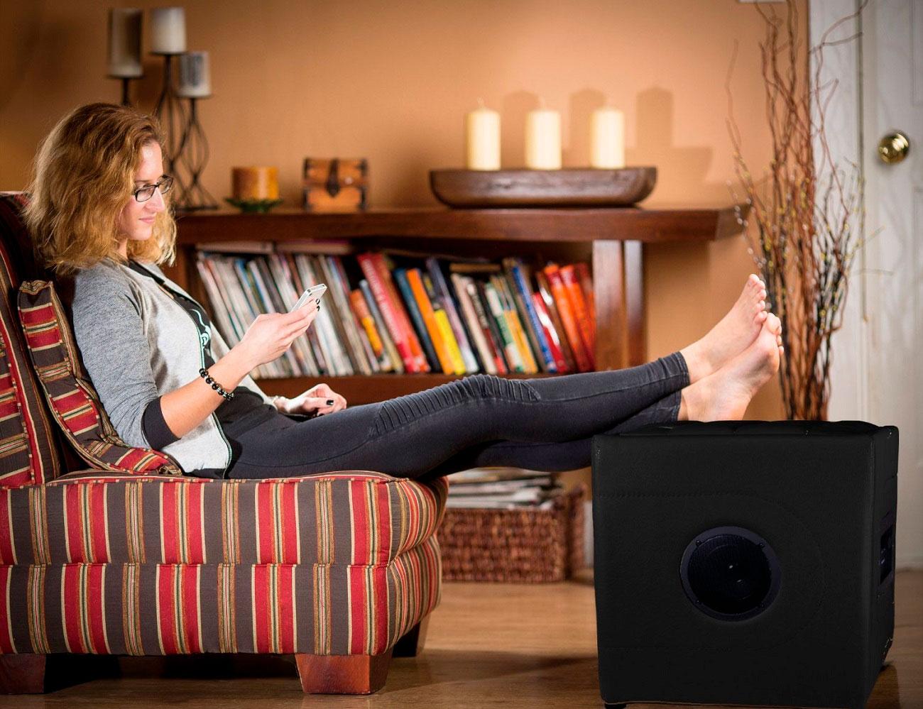 Bluetooth Speaker Ottoman