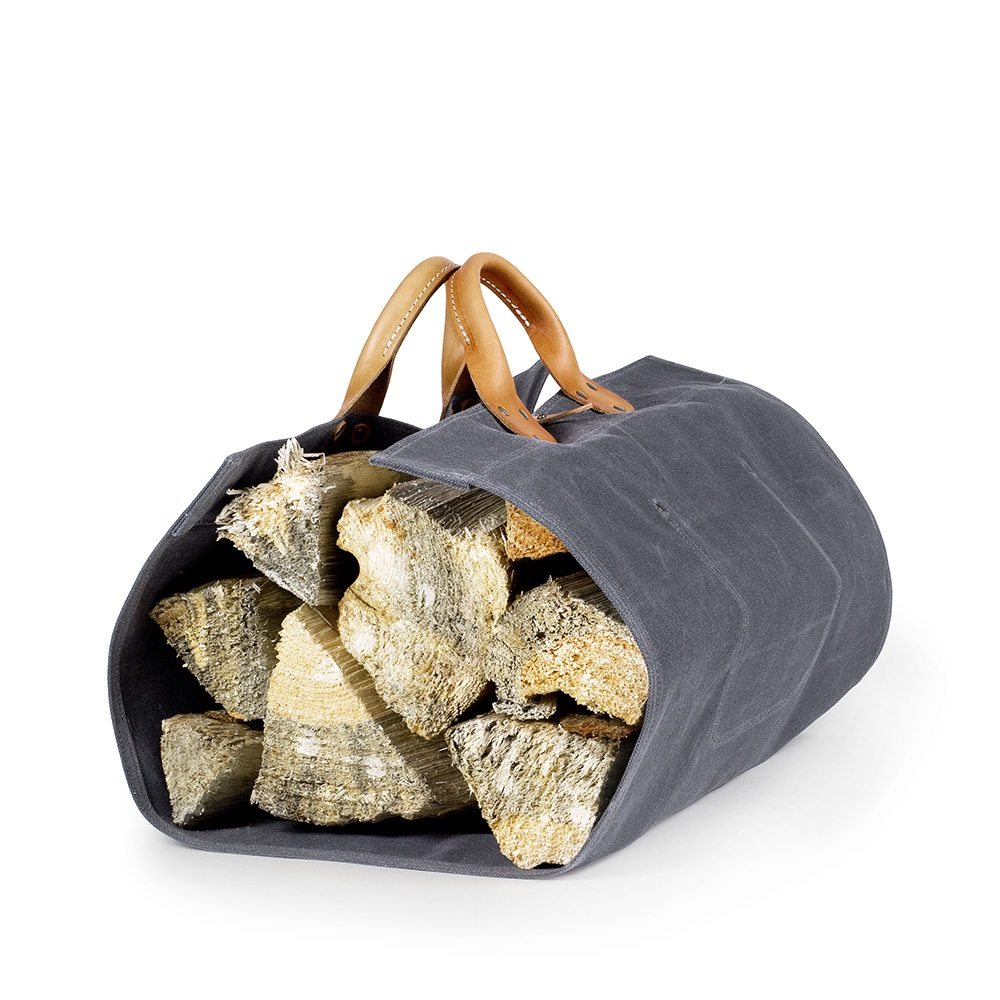 CampWell Log Tote – Natural Canvas