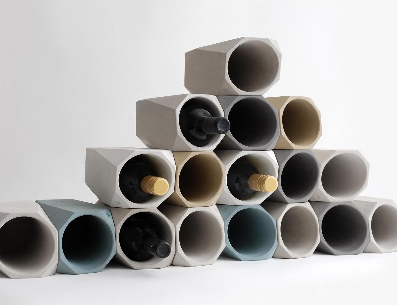 Corvi concrete wine cooler gadget flow for Concrete wine cooler