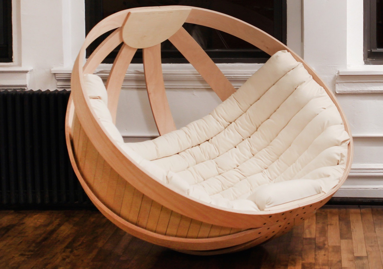 Cradle Rocking Chair by Richard Clarkson