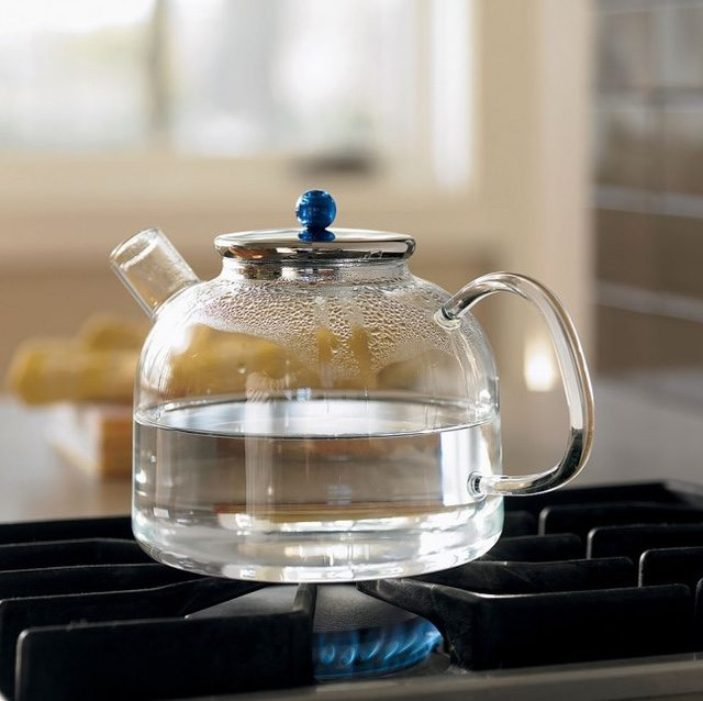 Heat Proof Glass Tea Kettle