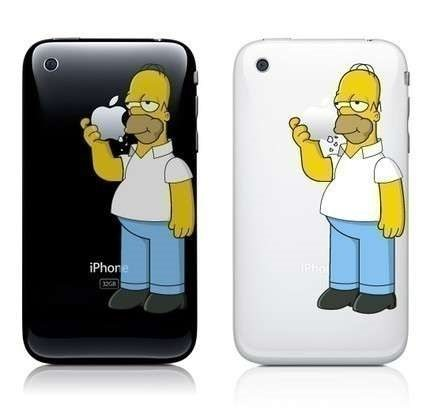 Homer iPhone 6 / 6 Plus Decal Sticker