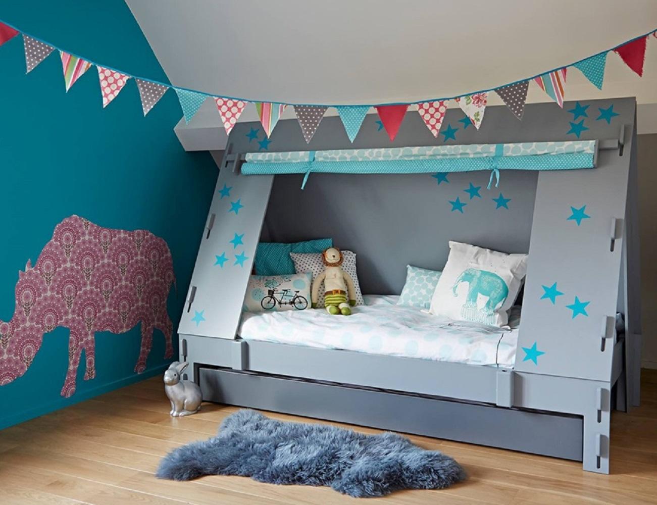 Kids Tent Cabin Canopy Bed 187 Gadget Flow