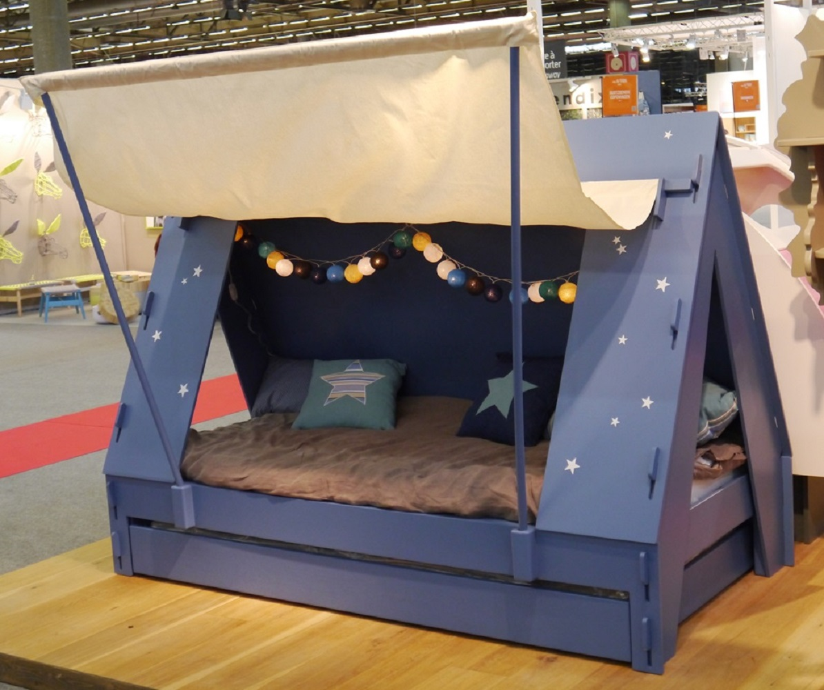 Good Kids Bed Tent Part - 2: ... Kids Tent Cabin Canopy Bed