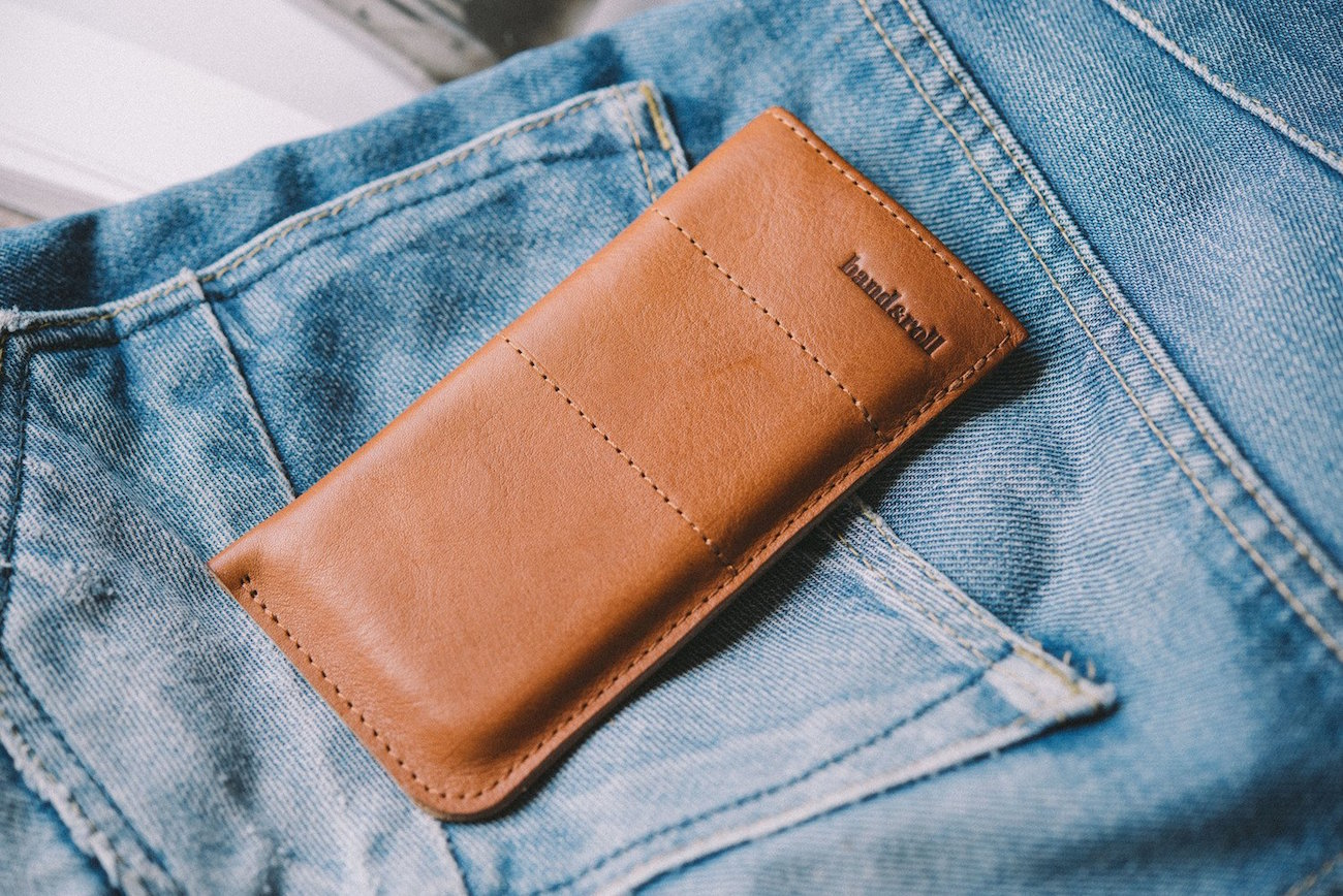 Leather iPhone Case by band&roll