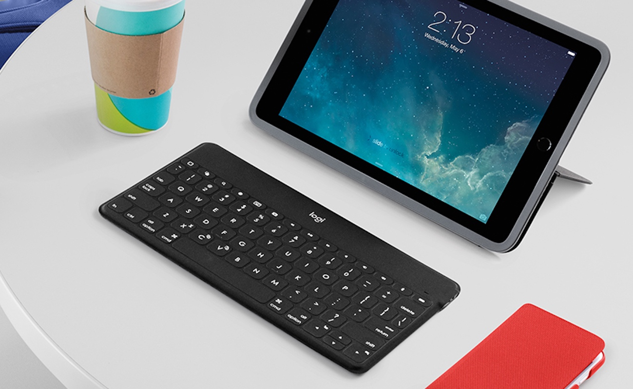 logitech keys to go standalone wireless bluetooth keyboard gadget flow. Black Bedroom Furniture Sets. Home Design Ideas