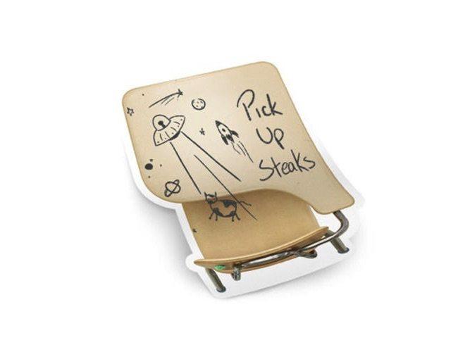 Old School Sticky Notepad
