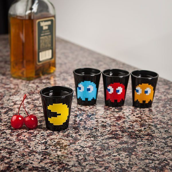 Pac-Man+Shot+Glass