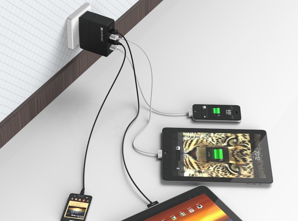 Four Port USB Charger by Satechi