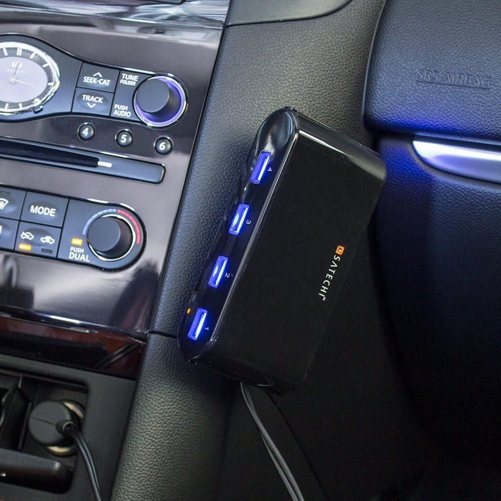 Satechi 5-Port 12V Car Socket Extender