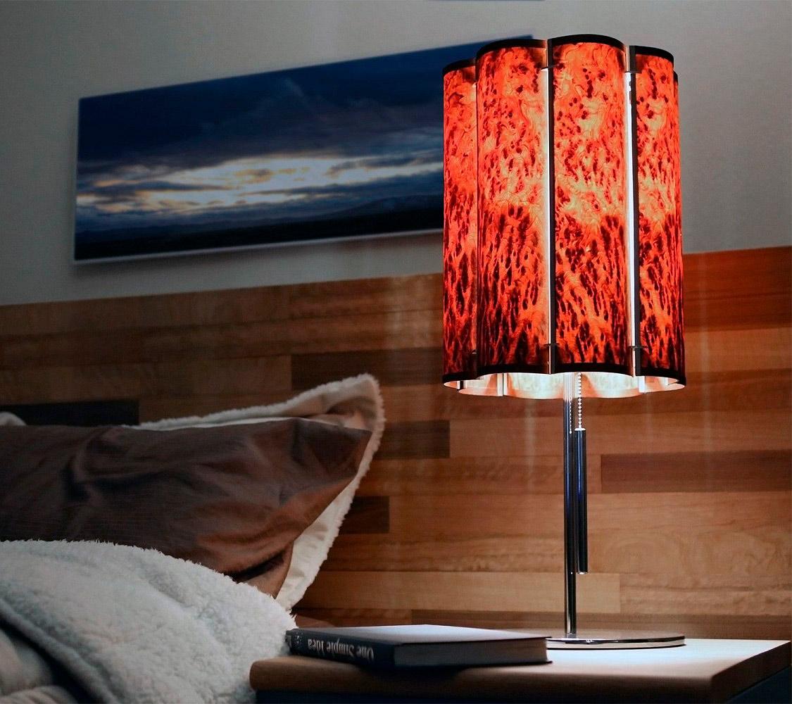 Slatewood Lamp Collection