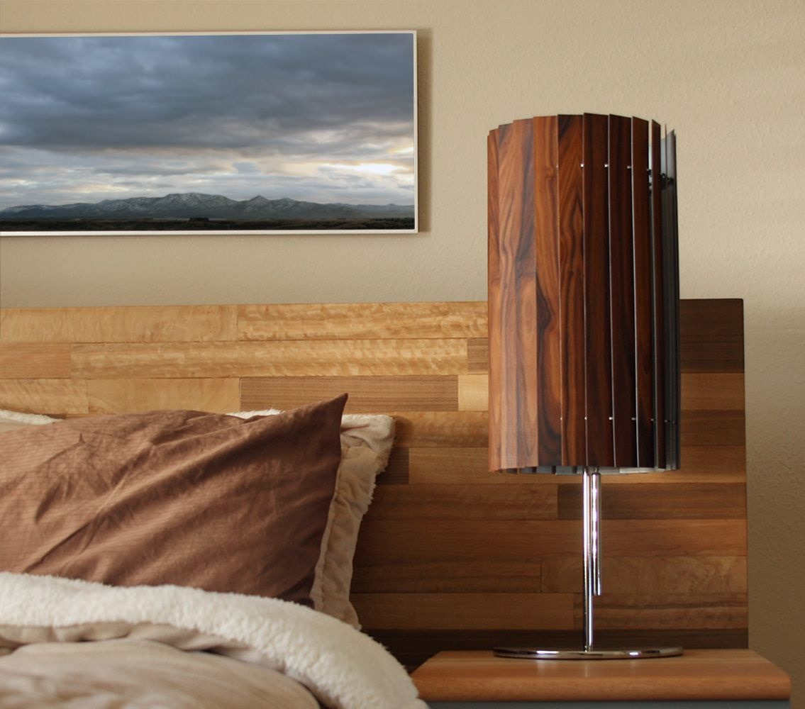 Slatewood Lamp Collection