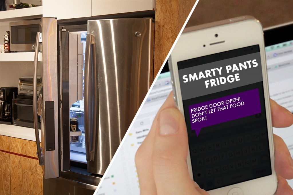 littleBits Smart Fridge