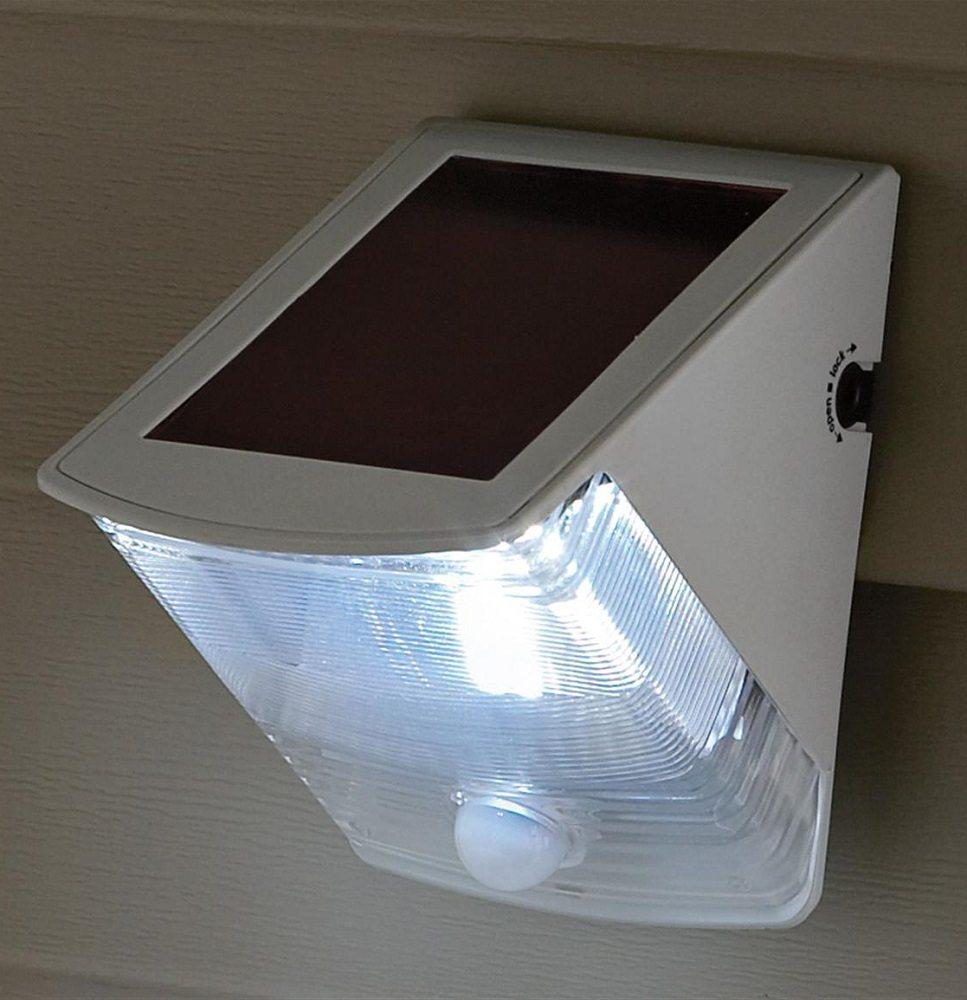 Solar Wedge Light